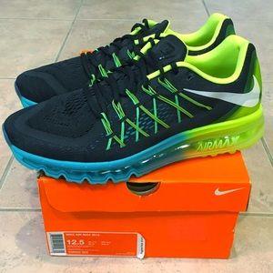 Nike Air Max 2015 Black Volt Jade 698902-003